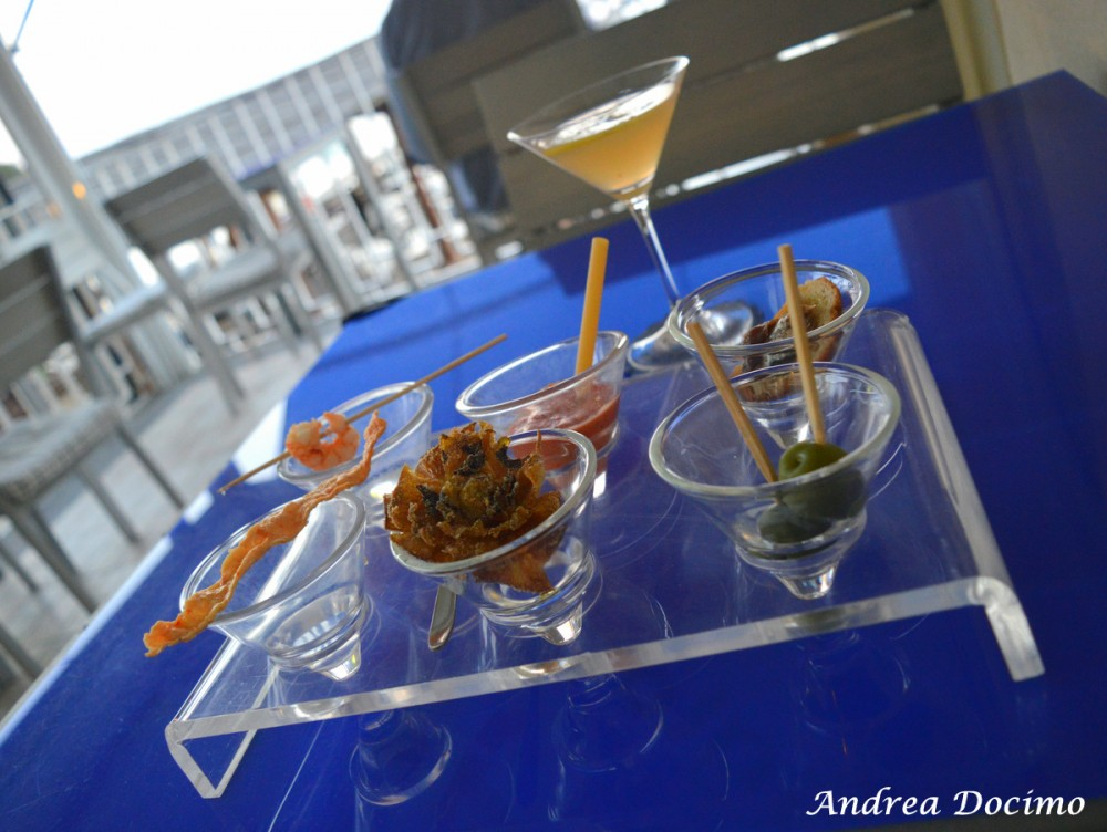 Taverna del Capitano a Marina del Cantone, Nerano NA. L'aperitivo
