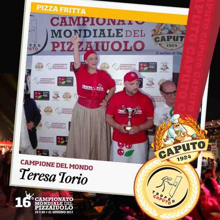 Teresa Iorio, pizza fritta