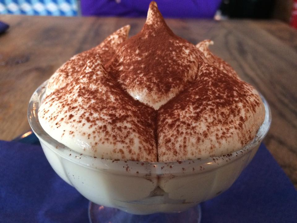 The Italian Job, il birramisu