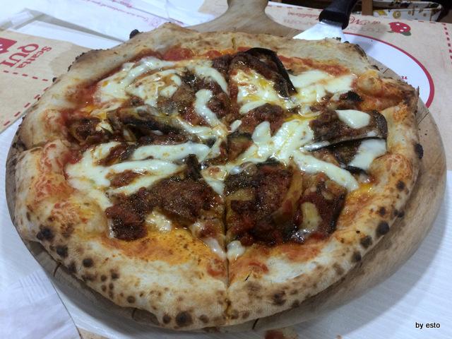 Totò e i Sapori Mauro Autolitano pizza con parmigiana di melanzane (2)