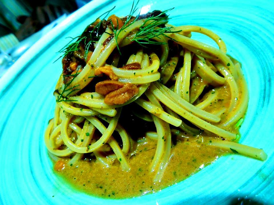 Triglia - Spaghetti ai ricci