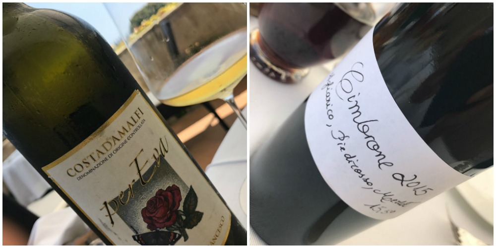 Villa Cimbrone, i vini