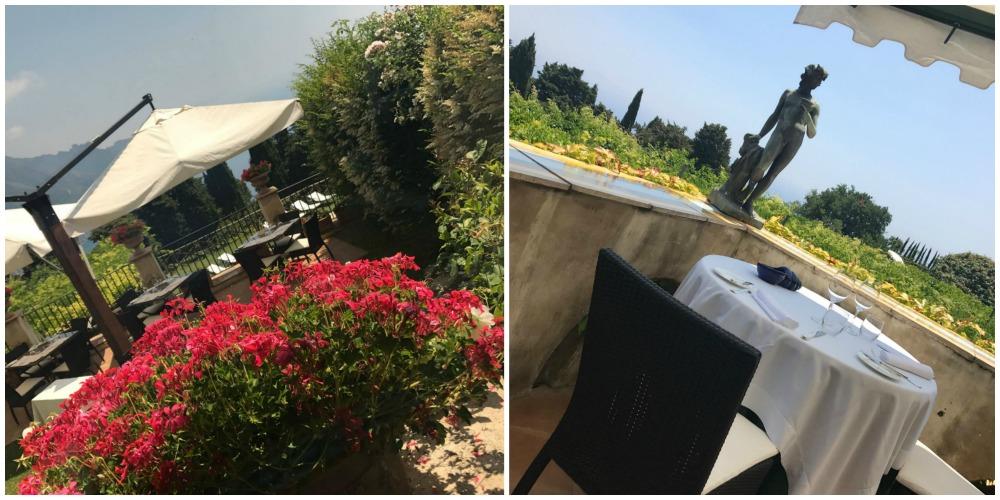 Villa Cimbrone, la terrazza