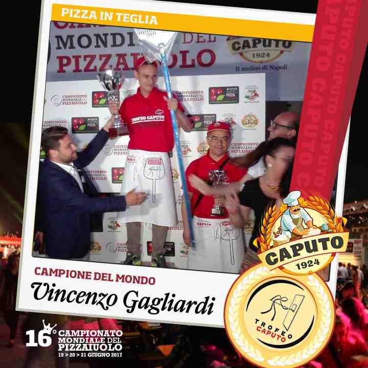 Vincenzo Gagliardi, pizza in teglia