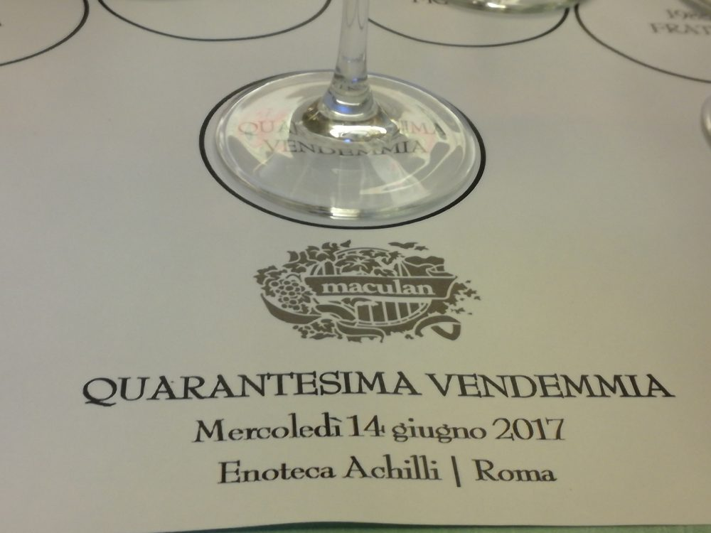 Quarantesima vendemmia