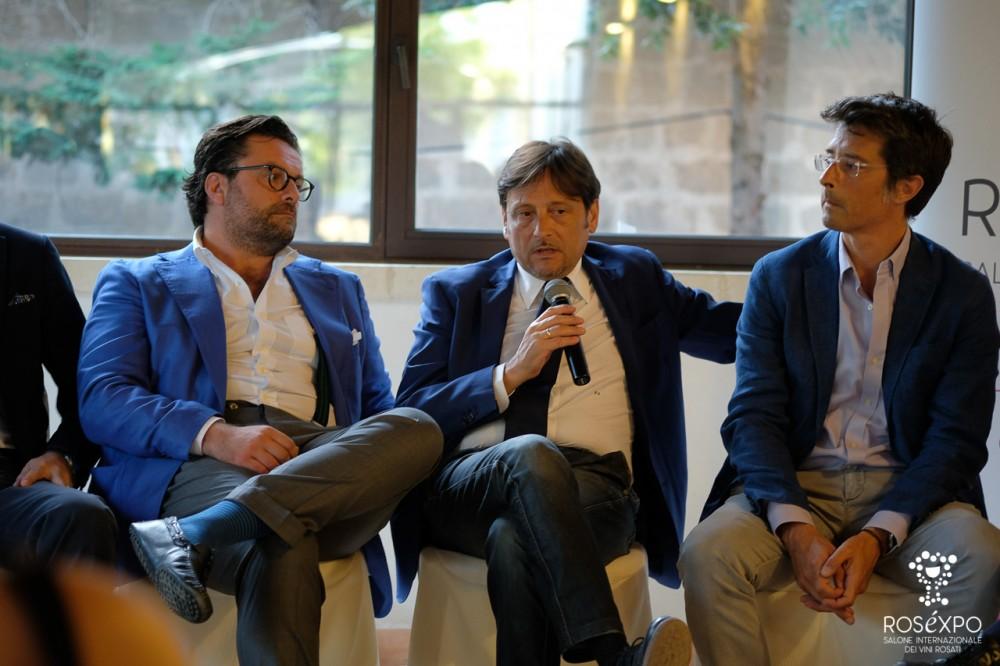 da sin Enrico Pierri, il sen Dario Stefano e Marco Magnocavallo