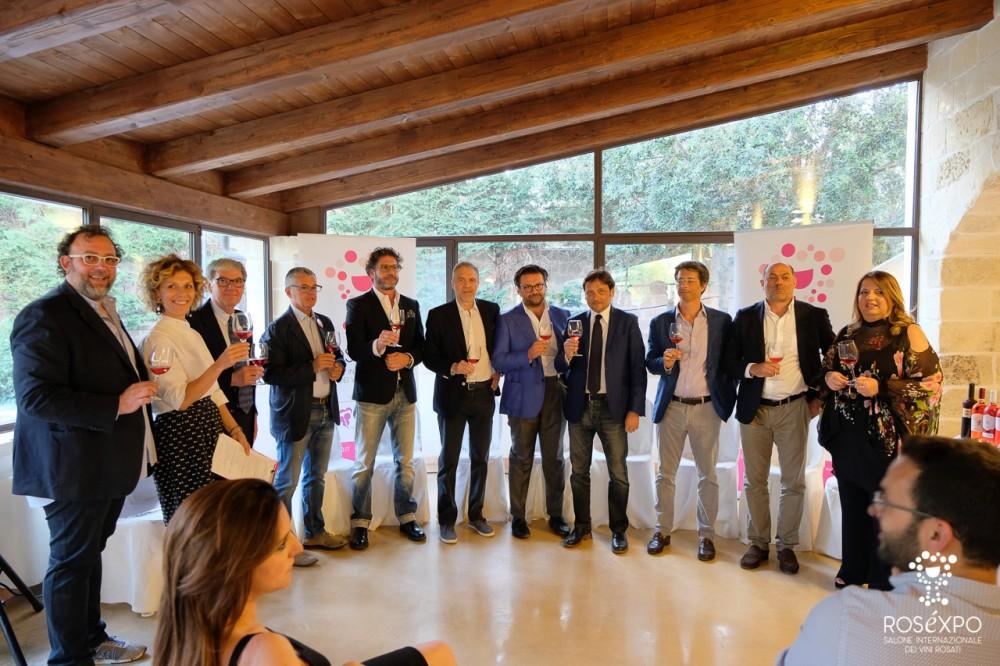 Organizzatori e relatori del convegno di Rosexpo
