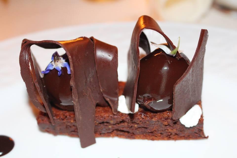 Chef Crescenzo Scotti - Caprese al cioccolato e le sue geometrie