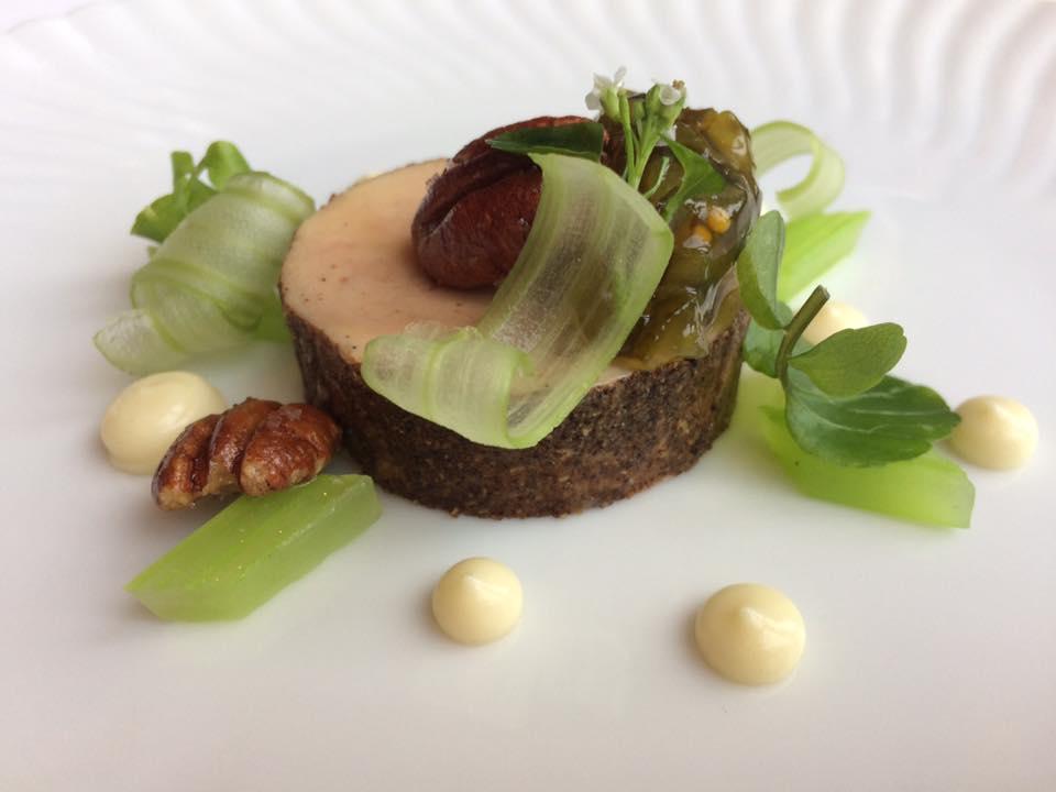 Per Se, 'pastrami' di foie gras dell'Hudson Valley