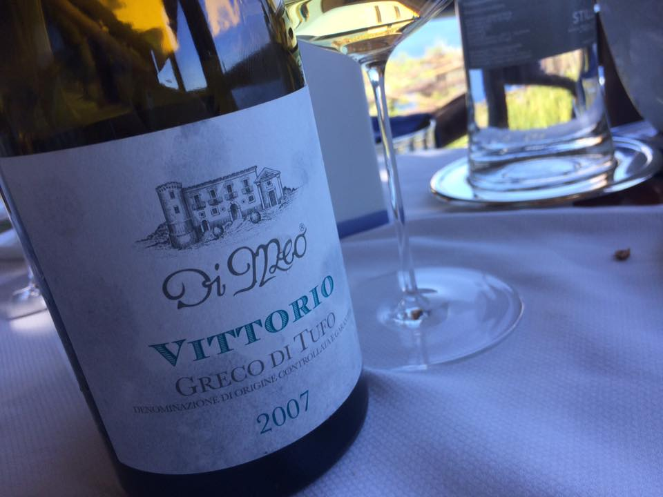 Monastero Santa Rosa, il vino