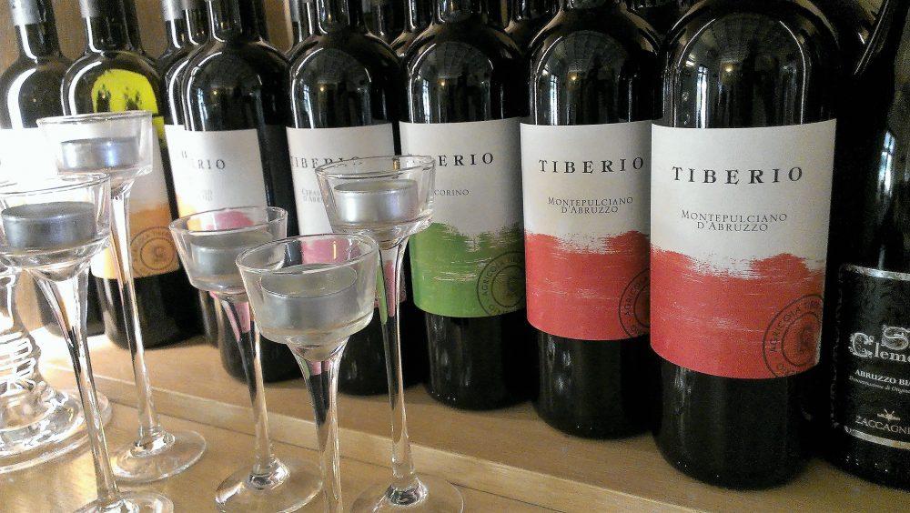 Percorsi di Gusto AQ - Vini cantina Tiberio – in abbinamento Pecorino e Cerasuolo d'Abruzzo