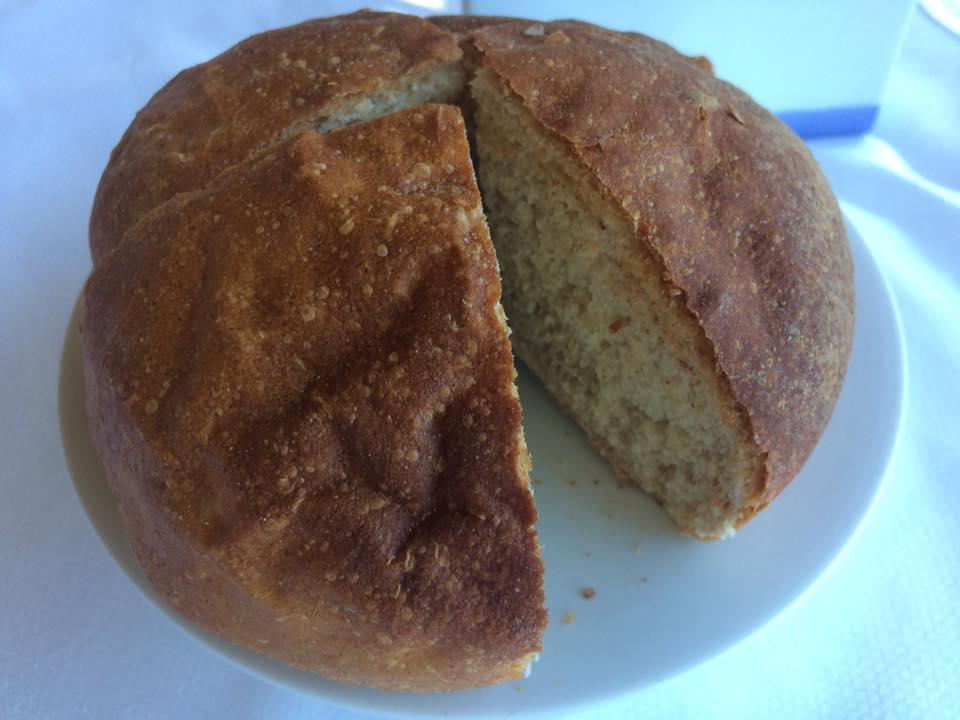 Monastero Santa Rosa, il pane
