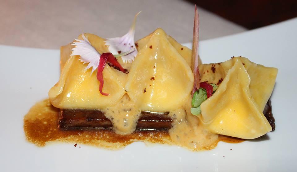 Chef Crescenzo Scotti - Tortelli con cipolla in quattro consistenze