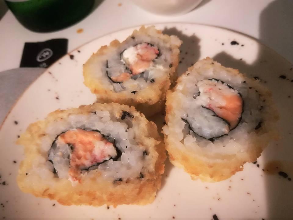 Shabu - Salmon crispy