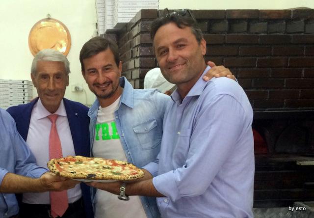 Alessandro Condurro nella Antica Pizzeria da Michele