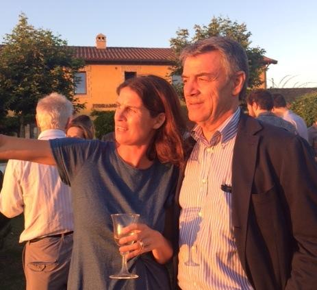 Alessia Antinori e Renzo Cotarella