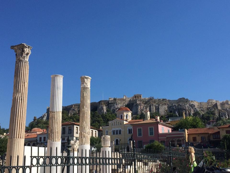 Atene, uno scorcio di Monastiraki