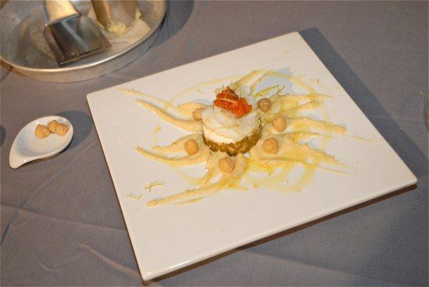 Cheesecake di baccala' profumato al finocchietto