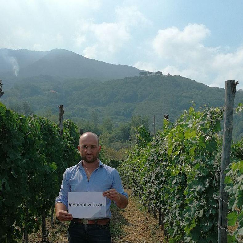 Ciro Giordano, presidente del Consorzio del Vesuvio