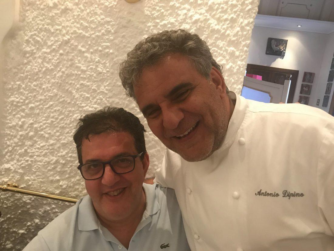 Con Antonio Dipino