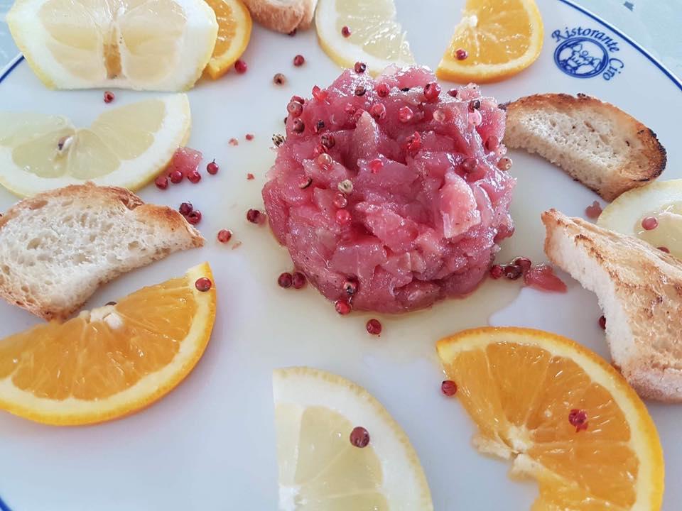 Ciro a Mare, La tartare di tonno