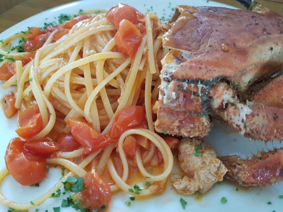 Ciro a Mare,Spaghetti al granchio