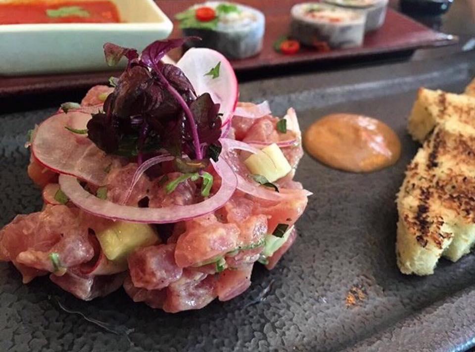 Sexy Fish, Tuna, Jalapeno e Avocado Ceviche
