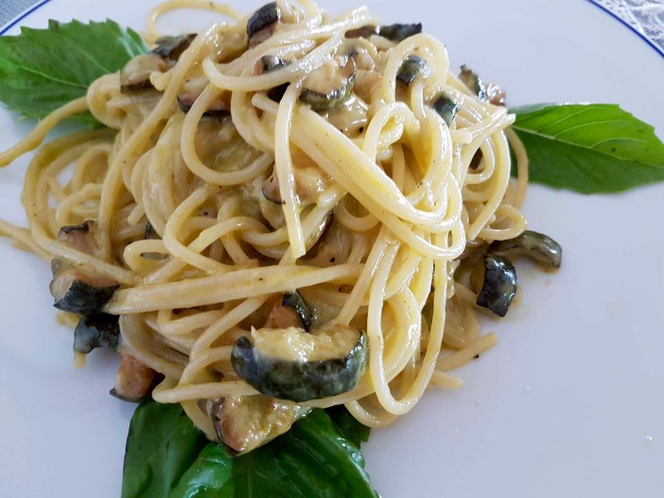 Ciro A Mare, Gli spaghetti alla Nerano