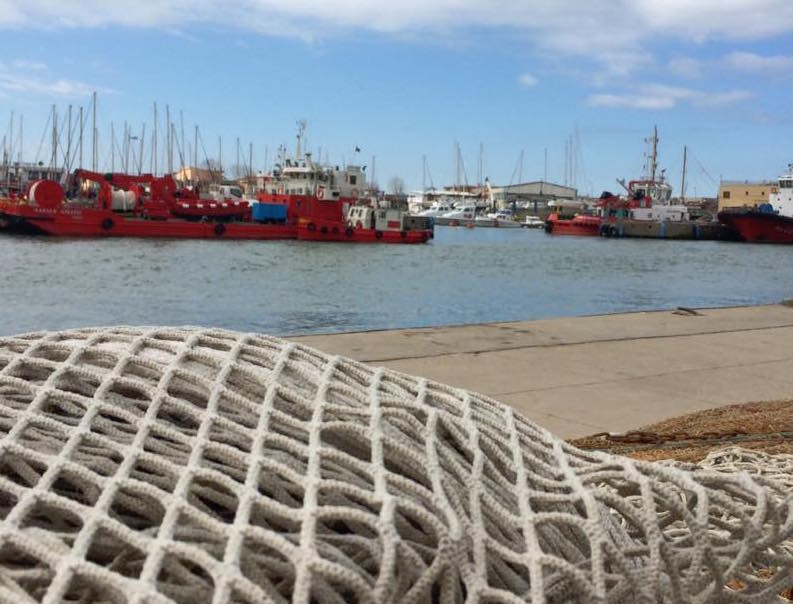 Fiumicino, uno scorcio dei pescherecci