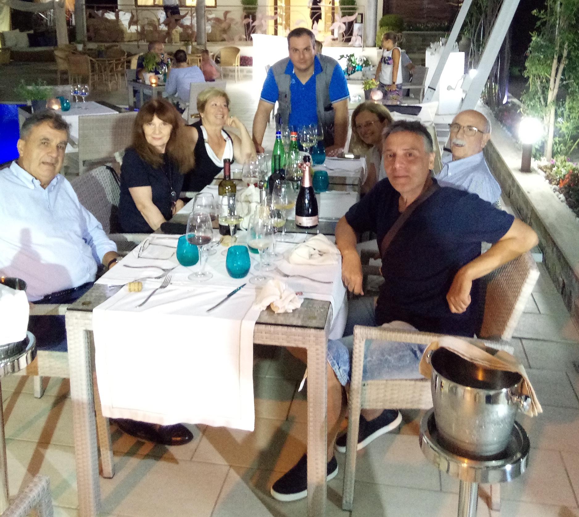 Foto di gruppo, in Cilento