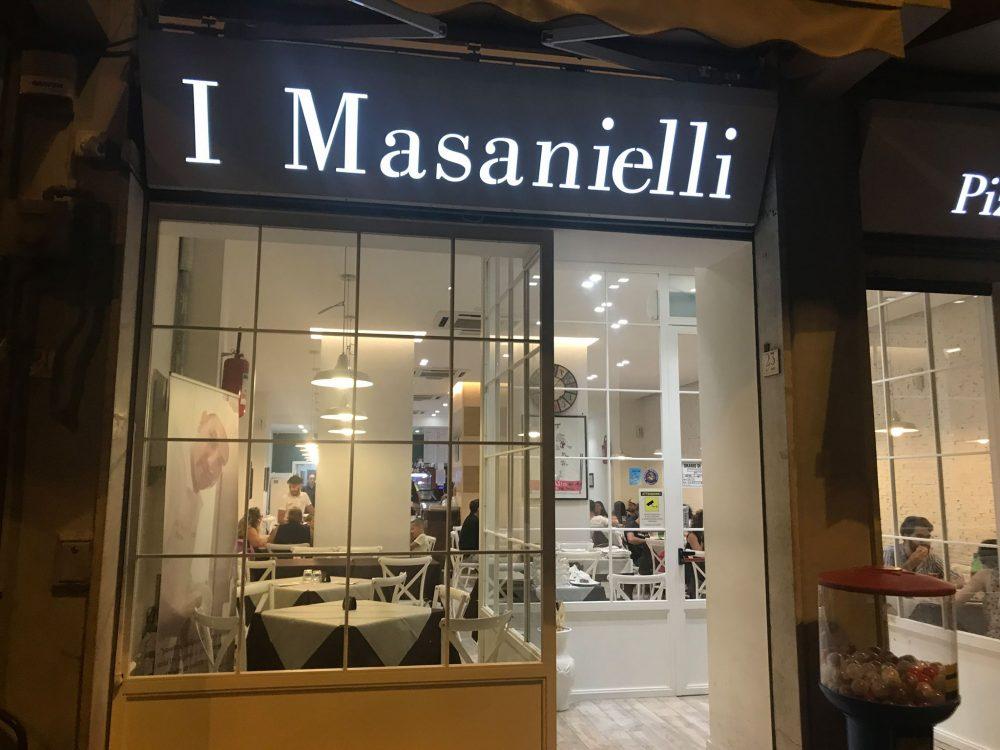 I Masanielli, ingresso