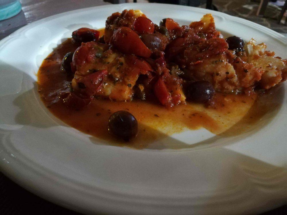 Il Burbero - Il Baccala' alla Livornese