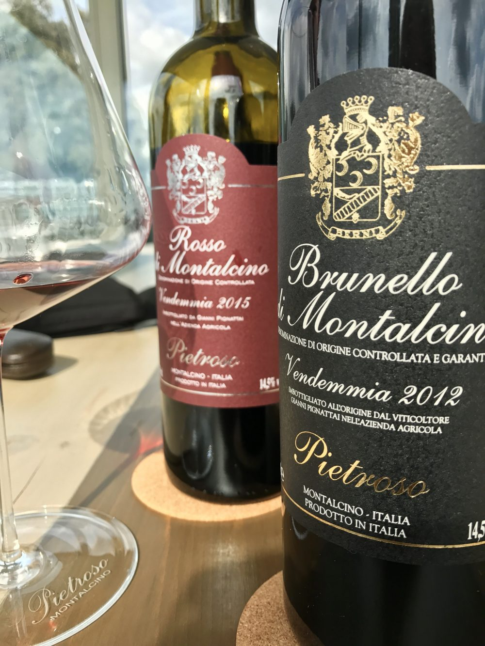 Il tocco Pietroso del Brunello, vino