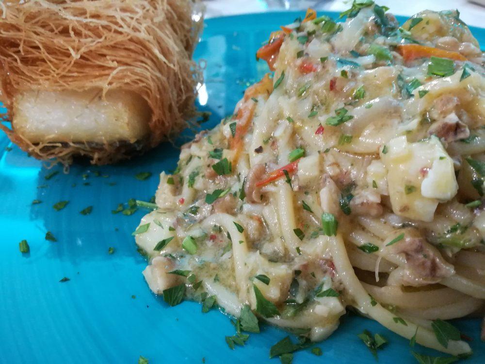 La Taverna del Re - Lo Spaghettone al Baccala' c