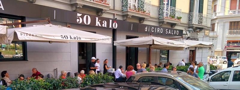 La pizzeria 50 Kalò