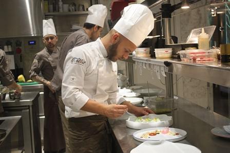Lo chef Mirko Di Mattia