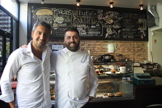 Lo chef Salvo Cravero e Luca Liberatori