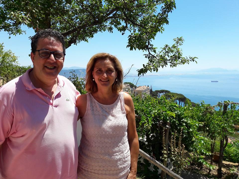 Luciano Pignataro e Patrizia Malanga
