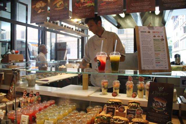 Mercato Centrale Roma - Il vegetariano e vegano di Marcella Bianchi