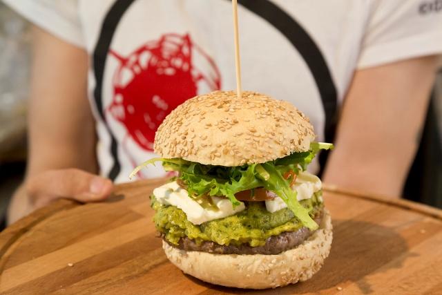Mercato Centrale Roma - L'hamburger di chianina di Enrico Lagorio