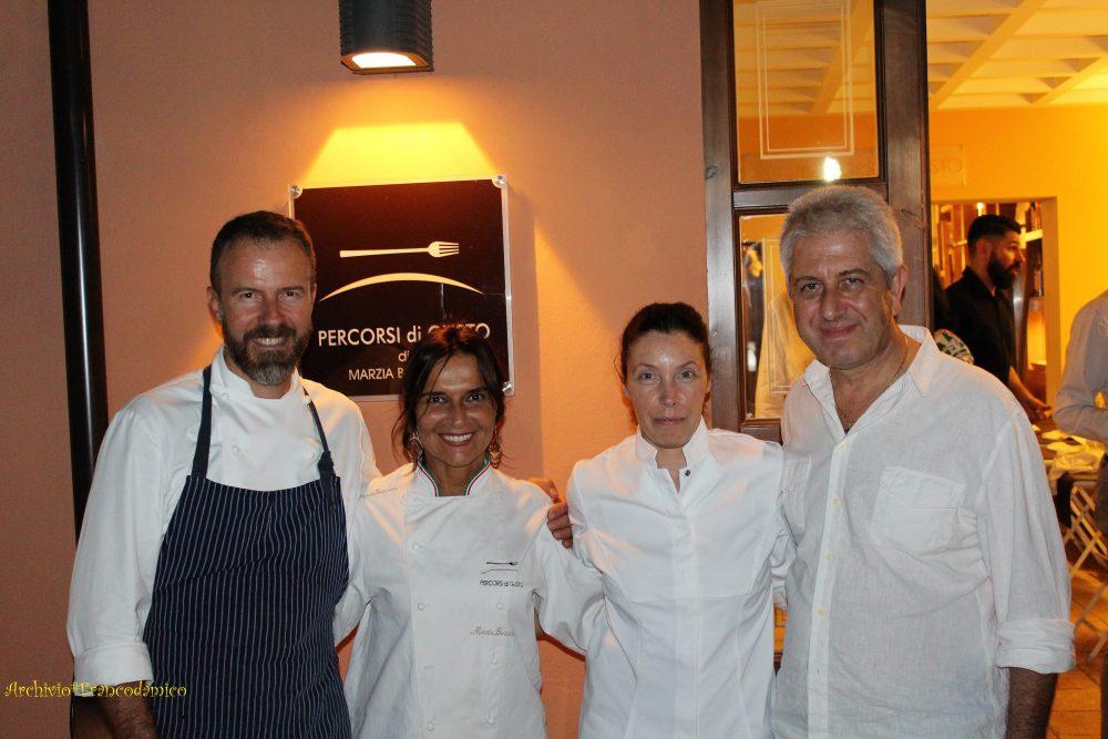Percorsi di Gusto AQ – i saluti finali con Simone Padoan, Eva Gallo e Marzia Buzzanca