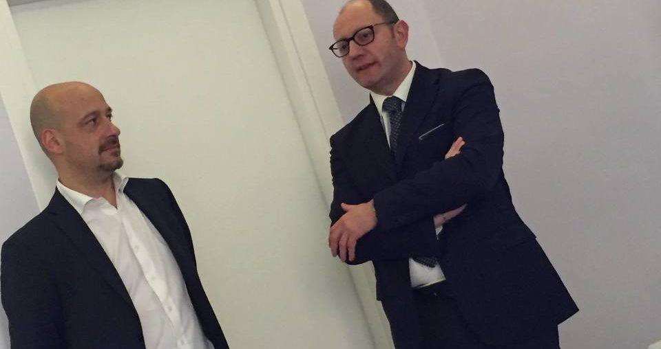 Piemaria Saccani e Mimmo Raimondo