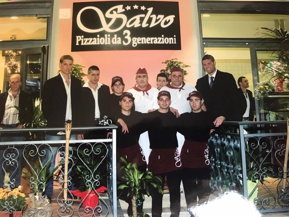 Pizzeria Salvo, Inaugurazione