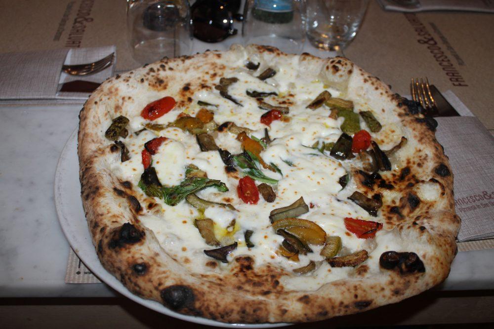 Pizzeria Salvo - Pizza Ortolana estiva