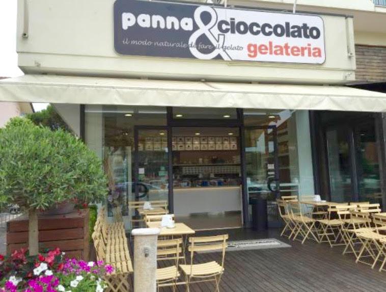 Riccione, Gelateria Panna e Cioccolato