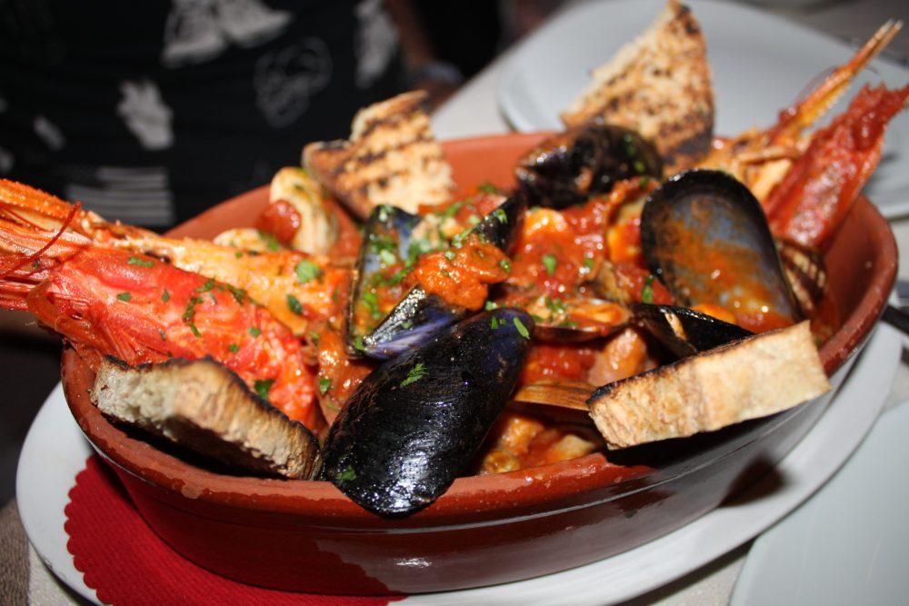 Ristorante Lanterna Rossa - Osteria del Mare, zuppa di pesce alla Beniamino