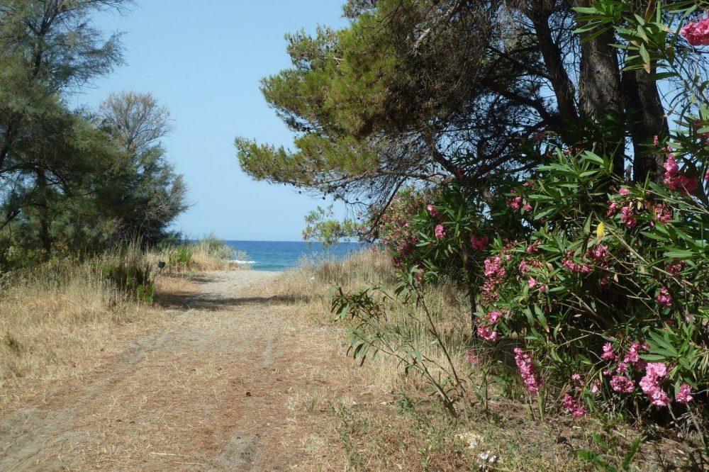Rumi, una delle spiaggette piu' vicine