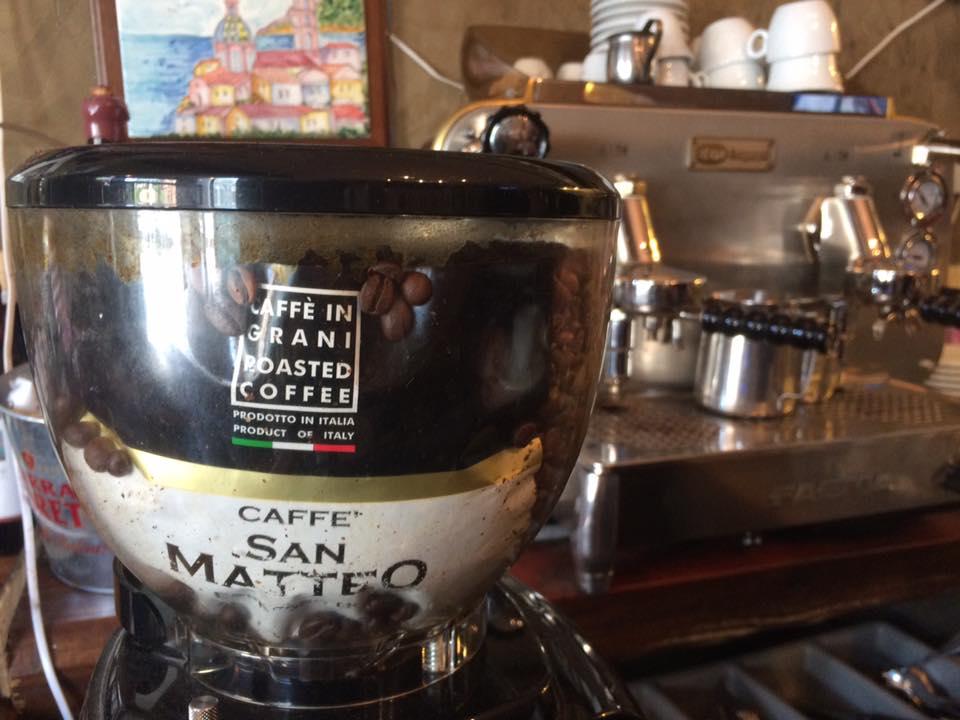 San Matteo, angolo del caffe espresso