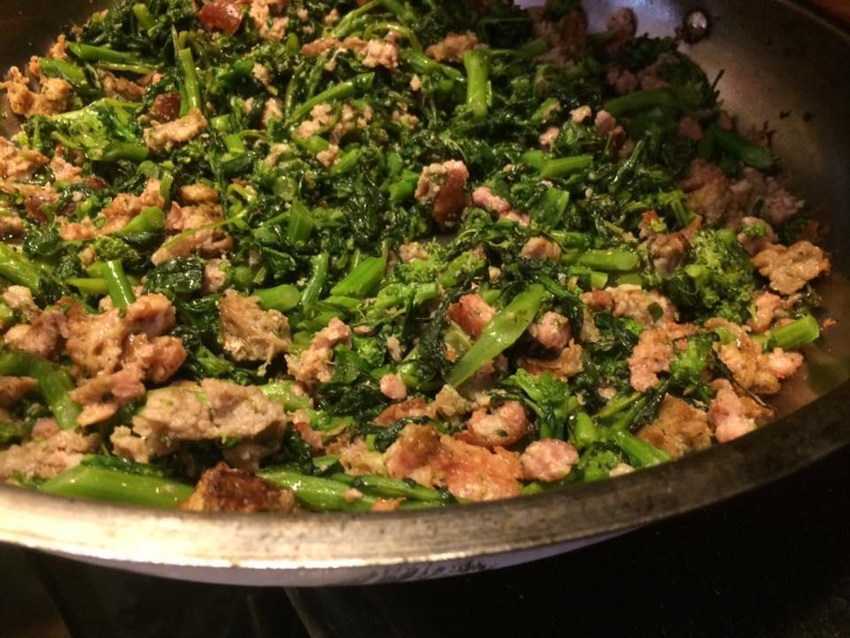 San Matteo, broccoli e salsicce