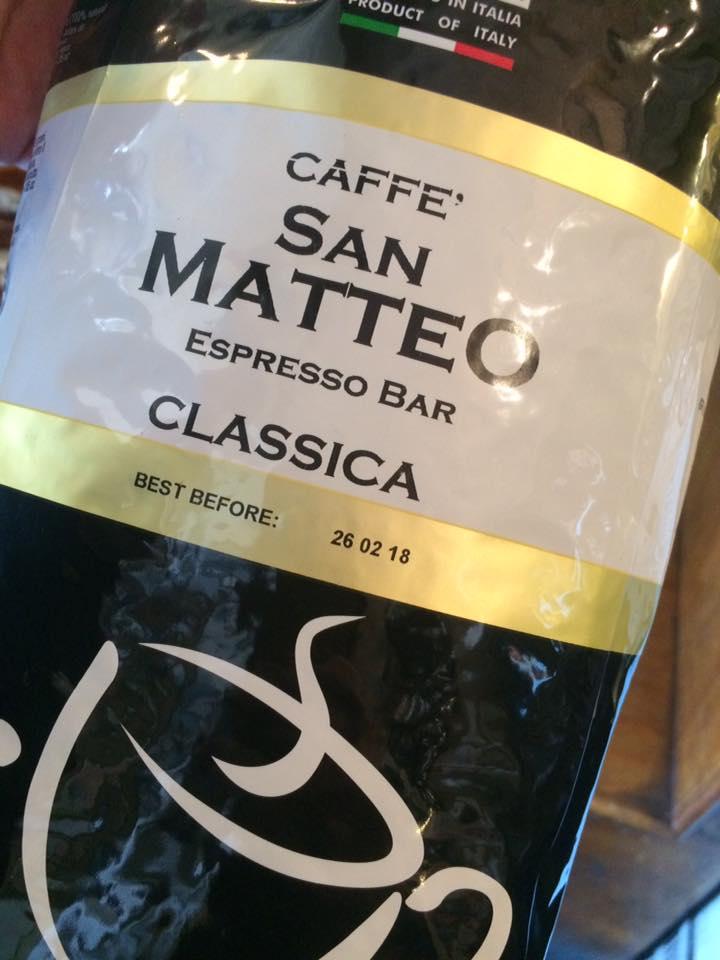 San Matteo, il caffe